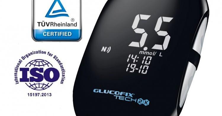 GLUCOFIX® TECH 2K voor het meten van glucose én ketonen